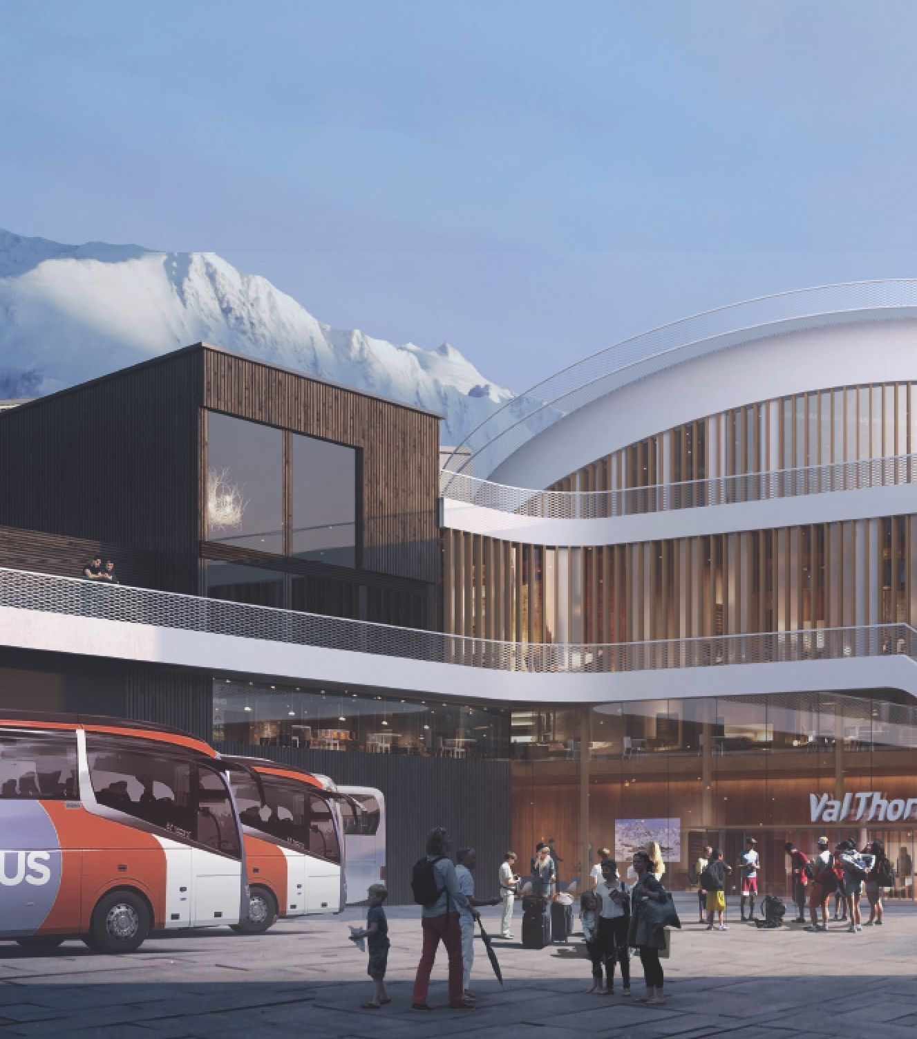 CENTRE SPORTIF DE VAL THORENS - Restructuration et extension